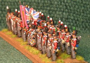 15mm, Napoleonic British Line, Buff facings, Pre 1812 AB 24 figures